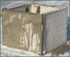 Square Concrete Risers